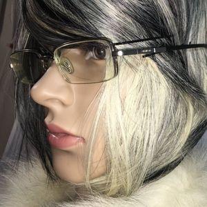 Accessories - Vintage 1970's Menrad Black Metal Eyeglasses